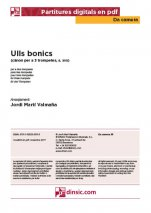 Ulls bonics-Da Camera (separate PDF pieces)-Music Schools and Conservatoires Elementary Level-Scores Elementary