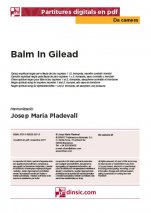 Balm In Gilead-Da Camera (separate PDF pieces)-Music Schools and Conservatoires Elementary Level-Scores Elementary