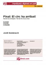 Final. El circ ha arribat!-Da Camera (separate PDF pieces)-Music Schools and Conservatoires Elementary Level-Scores Elementary