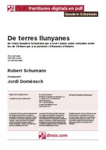 De terres llunyanes-Quadern Schumann (separate PDF pieces)-Music Schools and Conservatoires Elementary Level-Scores Elementary