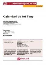 Calendari de tot l'any-L'Esquitx (peces soltes en pdf)-Escoles de Música i Conservatoris Grau Elemental-Partitures Bàsic