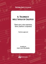 Il Telemaco nell 'isola di Calipso-Materials d'orquestra-Partitures Avançat