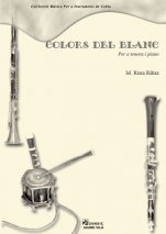 Colors del blanc-Music for Cobla Instruments (paper copy)-Music Schools and Conservatoires Intermediate Level-Music Schools and Conservatoires Advanced Level-Scores Advanced-Scores Intermediate
